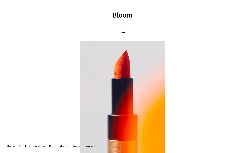 Site vitrine Bloom Paris - Consulting - Accueil - In blossom