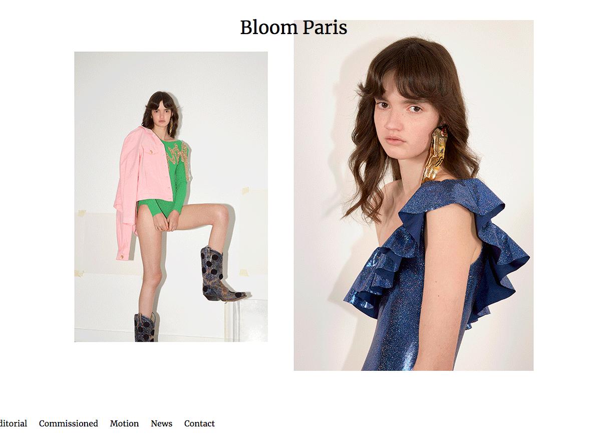 Site vitrine Bloom Paris - Consulting - Vignette - In blossom