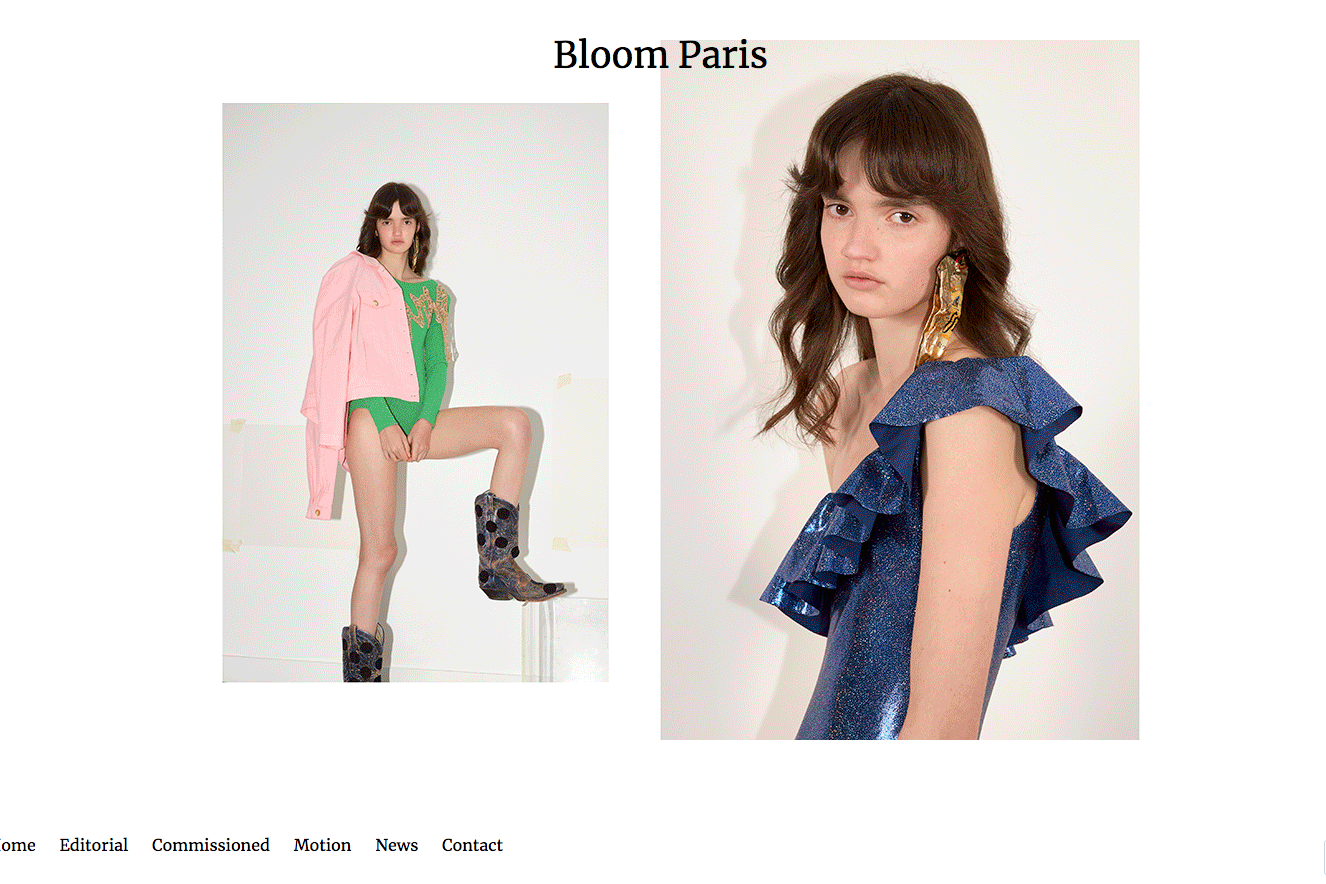 Site vitrine Bloom Paris - Consulting - Vignette - In blossom