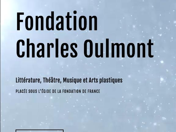 Refonte de site sur Squarespace - Fondation Charles Oulmont - Accueil vignette mobile - In blossom