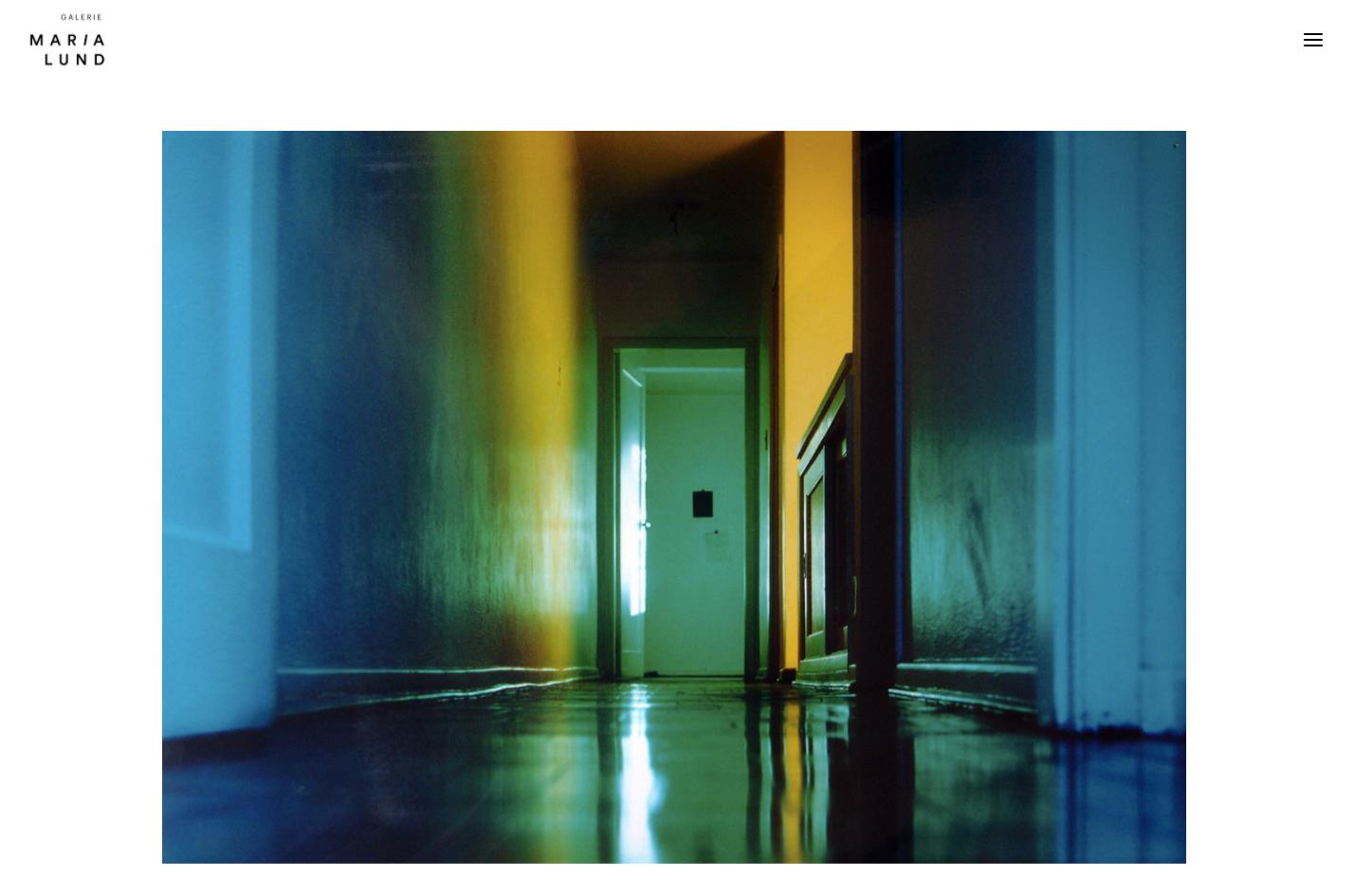 Refonte de site Galerie MariaLund - Peter Neuchsé - In blossom
