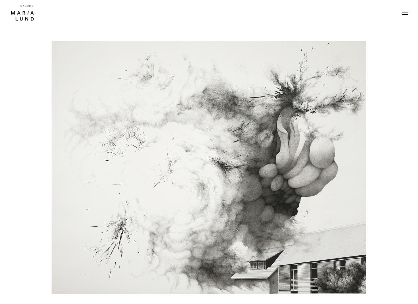 Refonte de site Galerie MariaLund - Min Jung-Yeon - In blossom