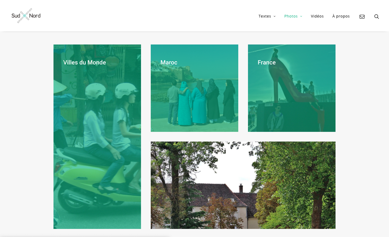 Refonte de site Jacques Ould-Aoudia - Les albums photos - In blossom