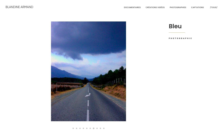 creation-de-site-blandine-armand-page photo bleu-inblossom